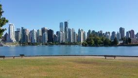 Горизонт Канады Британской Колумбии Ванкувера Стоковое Фото