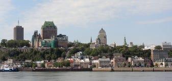 горизонт Квебека города Стоковая Фотография