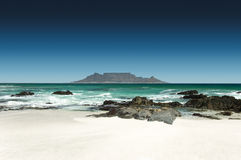 Горизонт Кейптауна, Южной Африки Стоковая Фотография RF