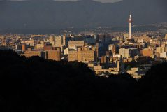 Горизонт Киото Стоковое Фото