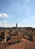 Горизонт крыши Флоренса Стоковые Изображения