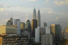горизонт Куала Лумпур Малайзии Стоковые Фото