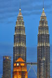 Горизонт Куала Лумпур, Малайзия Стоковое Фото