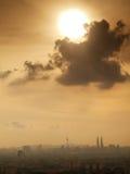 горизонт Куала Лумпур Стоковое Изображение RF