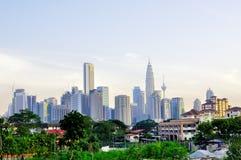 горизонт Куала Лумпур Стоковые Изображения RF