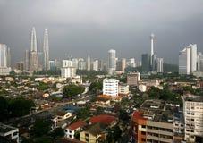 горизонт Куала Лумпур Стоковое Фото