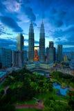 Горизонт Куалаа-Лумпур Стоковые Фото