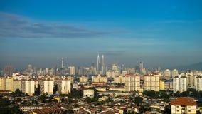 Горизонт Куалаа-Лумпур стоковые изображения