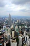 горизонт Куала Лумпур города Стоковые Изображения RF