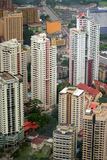 горизонт Куала Лумпур города Стоковое Фото