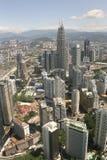 горизонт Куала Лумпур города Стоковые Изображения
