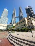 горизонт Куала Лумпур Малайзии Стоковое Изображение
