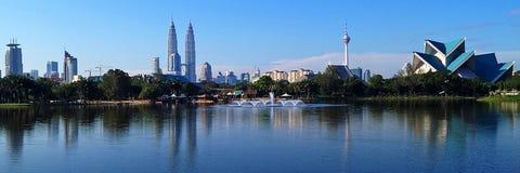 горизонт Куала Лумпур стоковое фото rf