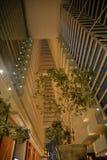 Горизонт к ноча, залив Сингапура Марины зашкурит здание Стоковые Фото