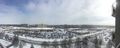 Горизонт Лондона Онтарио как красивый вид панорамы стоковая фотография rf