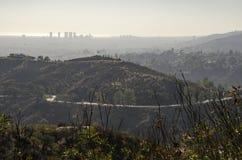 Горизонт Лос-Анджелеса в расстоянии 2 Стоковое Изображение