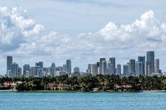 Горизонт Майами Стоковое Изображение RF
