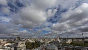 Горизонт Мадрида Стоковое Изображение RF