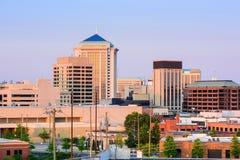 Горизонт Монтгомери Алабамы Стоковое Изображение RF