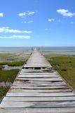 горизонт моста к Стоковые Фотографии RF