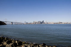 горизонт моста Стоковое фото RF