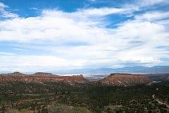 Горизонт Неш-Мексико Стоковое Изображение