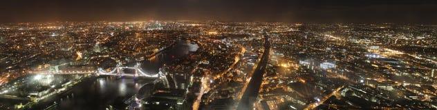 горизонт ночи london Стоковое фото RF