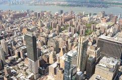 Горизонт Нью-Йорка в течение дня Стоковые Изображения