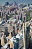 Горизонт Нью-Йорка в течение дня Стоковое Изображение