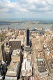 Горизонт Нью-Йорка в течение дня Стоковое Фото