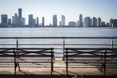 Горизонт Нью-Йорка стоковые изображения rf