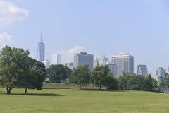 Горизонт Нью-Йорка Стоковые Изображения
