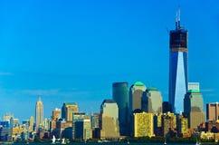 Горизонт Нью-Йорка Стоковые Фото