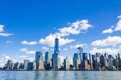 Горизонт Нью-Йорка Стоковая Фотография RF