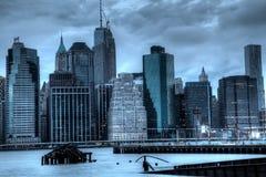 Горизонт Нью-Йорка Стоковое фото RF