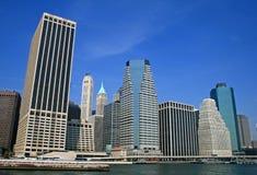 Горизонт Нью-Йорк стоковое изображение