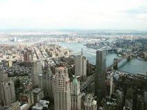 Горизонт - Нью-Йорк Стоковое Изображение RF