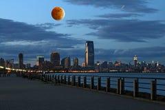 Горизонт Нью-Йорк Th стоковое изображение rf