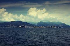 Горизонт озера стоковое изображение rf