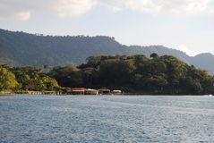 Горизонт озера Стоковая Фотография RF