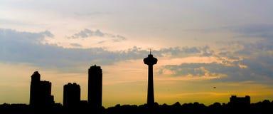 Горизонт Онтарио стоковое фото rf
