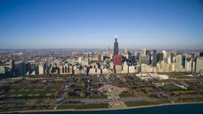 горизонт парка дара chicago Стоковые Изображения
