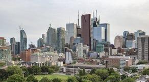 Горизонт парка и Торонто мха стоковая фотография rf