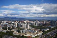 Горизонт Пекина стоковые изображения rf