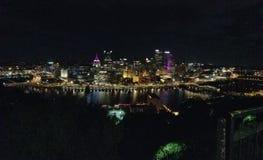 Горизонт Питтсбурга стоковое изображение