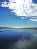 горизонт пляжа Стоковые Фото