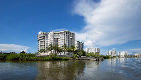 Горизонт пляжа Fort Myers Стоковое Изображение RF