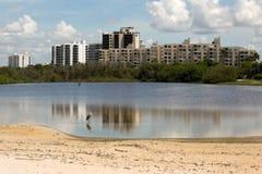 Горизонт пляжа Fort Myers Стоковая Фотография