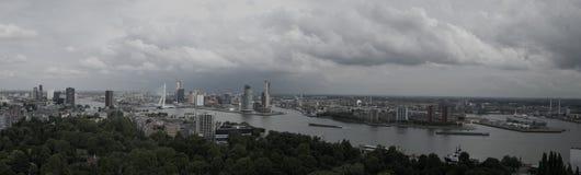 Горизонт Роттердам Стоковое фото RF