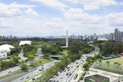 Горизонт Сан-Паулу Стоковое Изображение RF